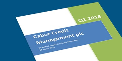 Cabot Credit Management delivers strong performance as Encore announces Cabot is to become a wholly owned subsidiary